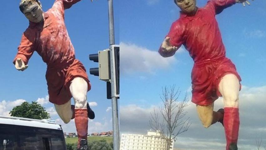 Melih Gökçek'in futbolcu heykelleri de kaldırıldı!
