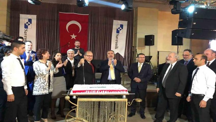 SAVRONİK iki şirketinin birleşmesini çalışanlarıyla kutladı