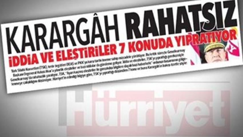 """Cumhurbaşkanı Başdanışmanı: """"Hürriyet, küresel güçlerin Türkiye temsilcisidir"""""""