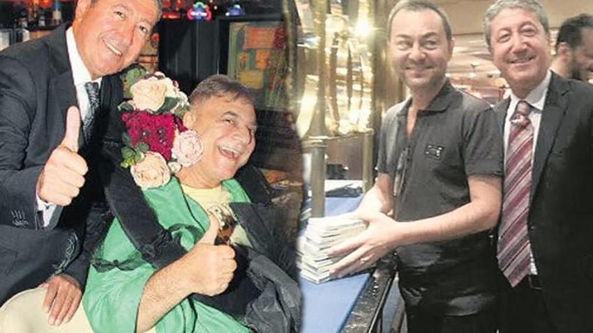Mehmet Ali Erbil ve Serdar Ortaç'ın kumar görüntüleri Ankara'yı rahatsız etti!