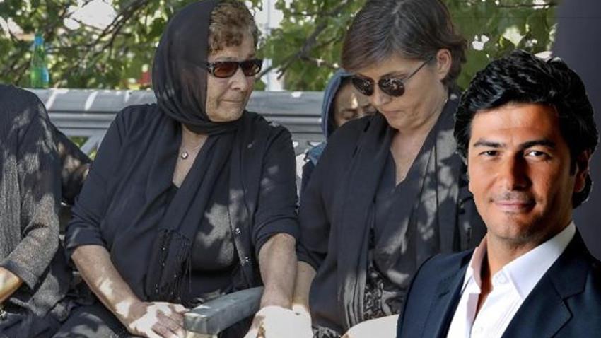 Vatan Şaşmaz'ın cenazesinde iki kadın, bir acı! Son yolculuğuna uğurlandı!