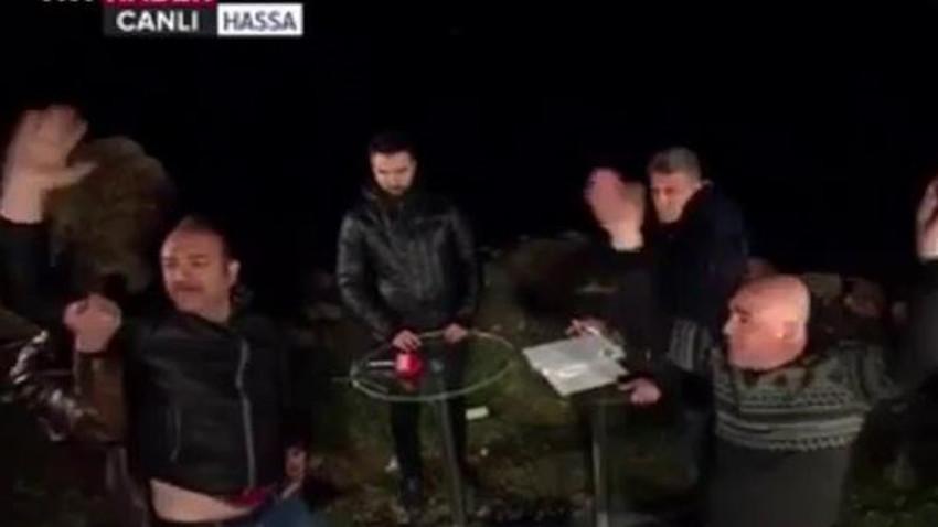 TRT Haber canlı yayınında şok anlar! Programa sloganlarla sızdılar! (Medyaradar/Özel)