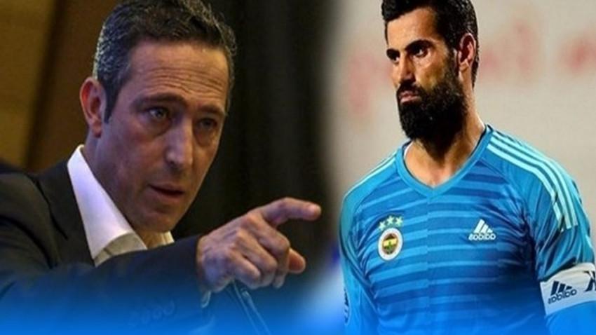 """Kadro dışı bırakılan Volkan Demirel'den Ali Koç'a yanıt: """"Beklenen özür dilememse..."""""""