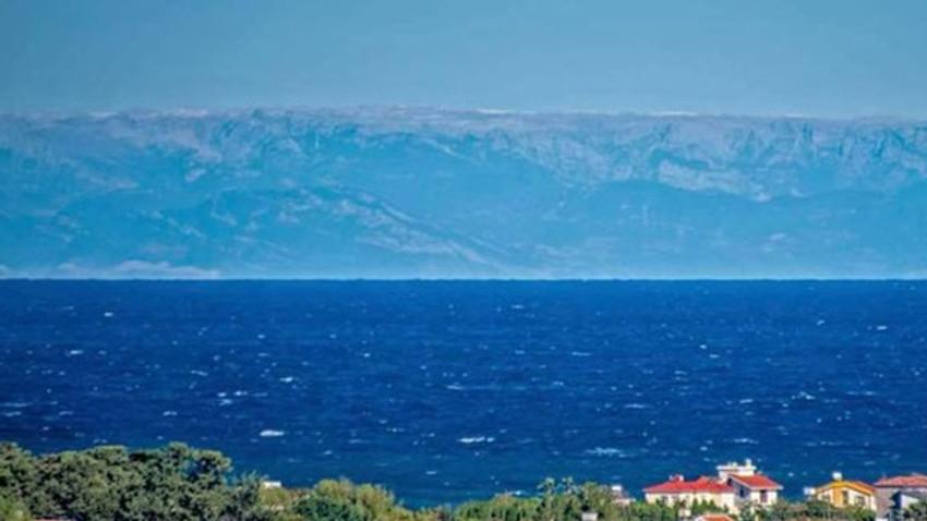 KKTC bu fotoğrafı konuşuyor: Türkiye Kıbrıs'a gittikçe yaklaşıyor mu ne?