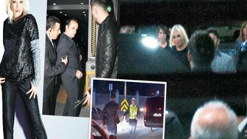 Ajda Pekkan'ın olaylı gecesi! Kardeşinin evine sığındı