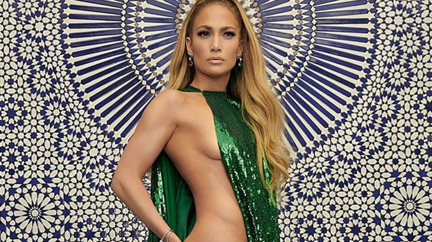 Jennifer Lopez'in cüretkar pozu, sosyal medyada olay oldu!