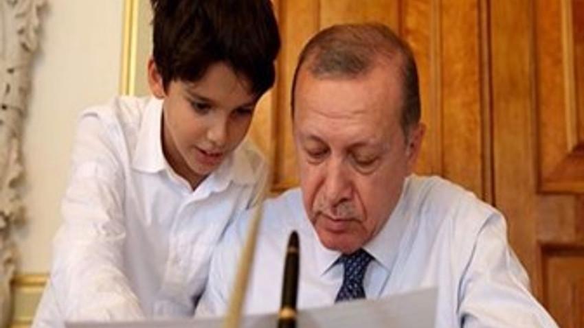 Cumhurbaşkanı Erdoğan'ın torunu TRT'de yarışmaya katıldı! Peki ne kazandı?
