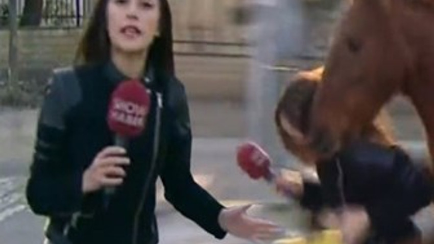 Atların teptiği Show Haber muhabirine son darbeyi yönetim vurdu! (Medyaradar/Özel)