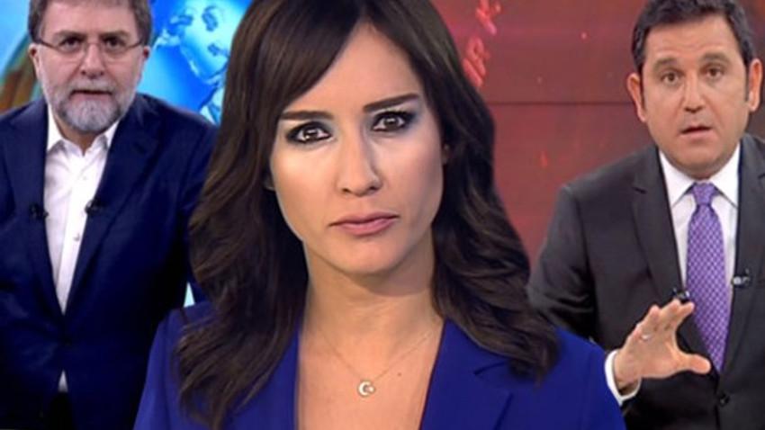 Nazlı Çelik, Ahmet Hakan ve Fatih Portakal'dan Taksiciler Odası Başkanı'na tepki!