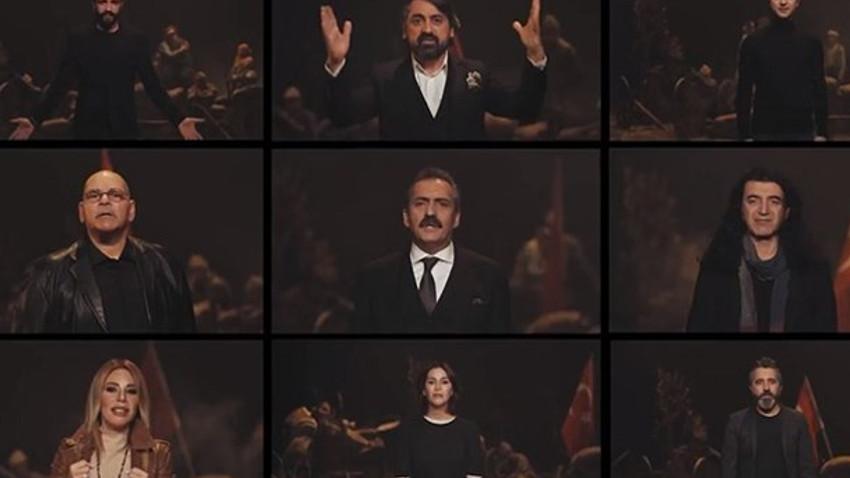Çanakkale Zaferi için kamu spotu: Yavuz Bingöl ve Nihat Hatipoğlu var, Atatürk yok!