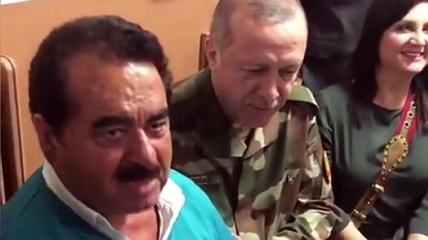 İbrahim Tatlıses 7 yıl sonra Afrin türküsü için stüdyoya girdi