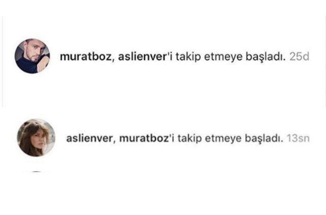 Beklenen oldu! Aslı Enver ile Murat Boz birbirini takibe aldı! - Sayfa 4