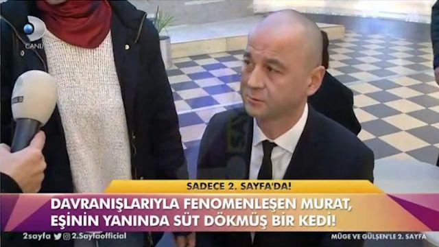 MasterChef Murat eşinin yanında süt dökmüş kediye döndü! - Sayfa 1