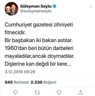 Soyludan Cumhuriyete sert tepki: Dişlerine kan değdi bir kere 20