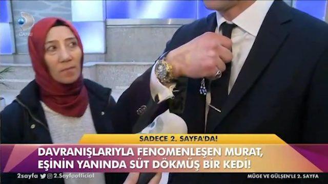 MasterChef Murat eşinin yanında süt dökmüş kediye döndü! - Sayfa 2