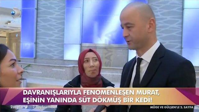 MasterChef Murat eşinin yanında süt dökmüş kediye döndü! - Sayfa 4