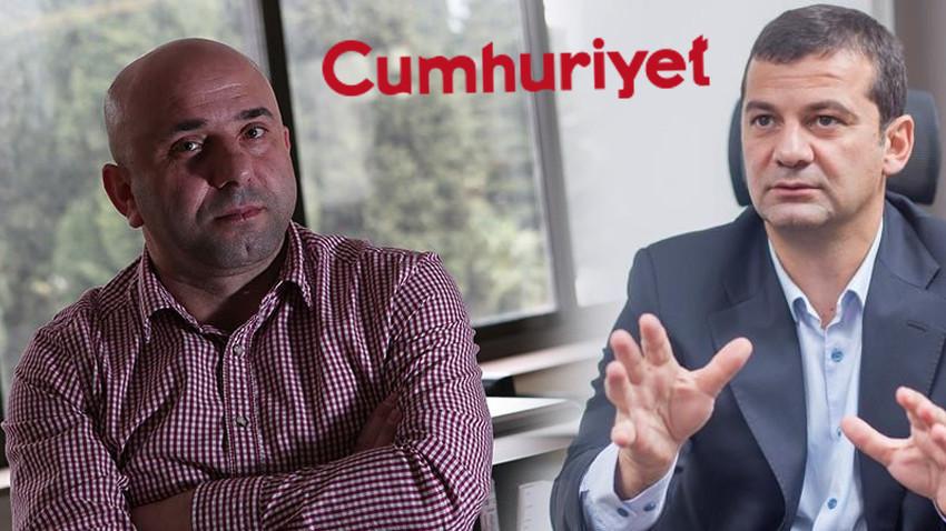 Cumhuriyet'te 'Osman Kavala' tartışması büyüyor! Genel Yayın Yönetmeni yazımı kesmiş!