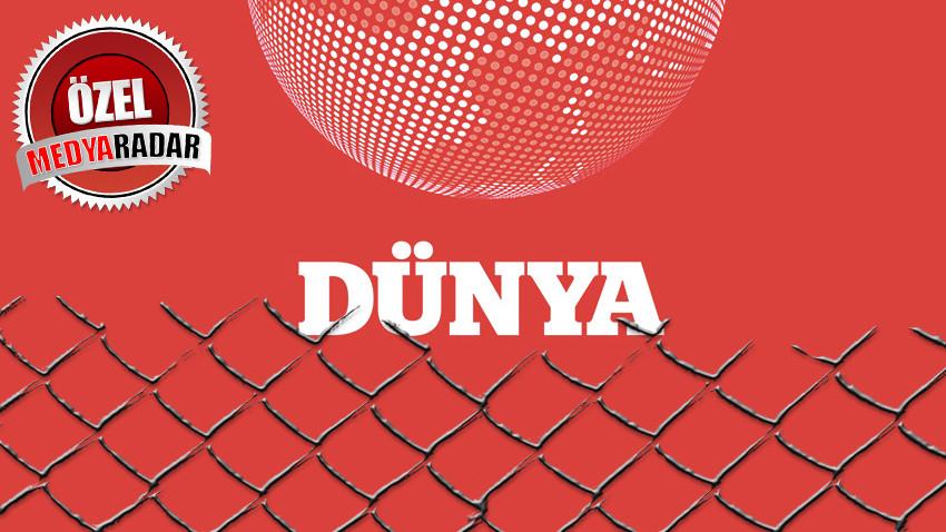 Medyaradar yazdı, Dünya Gazetesi yönetimi uyandı! Tepe isminden flaş açıklama!