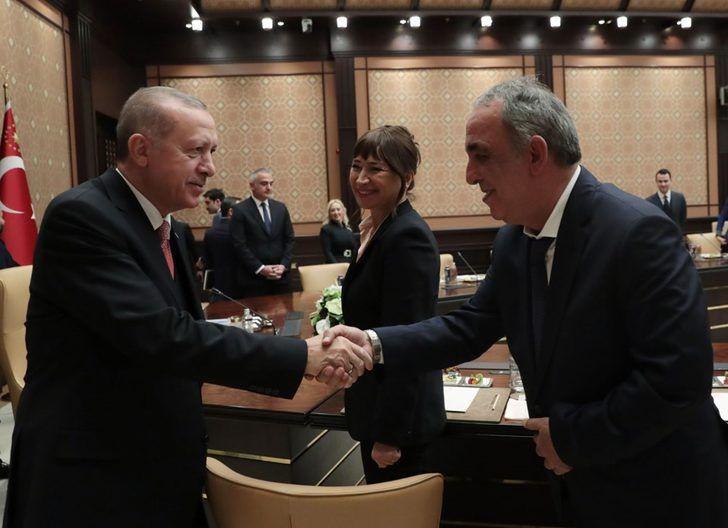 Erdoğan, sinema sektörü temsilcileriyle buluştu - Sayfa 4