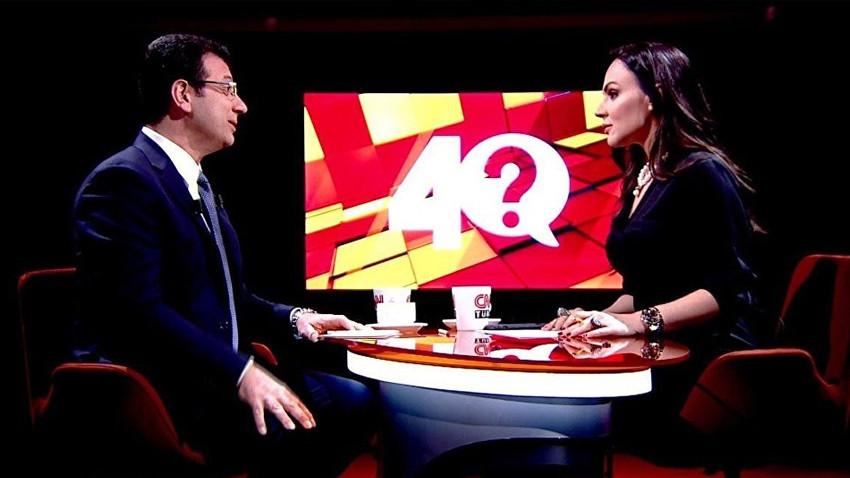 İmamoğlu'nu ağırlayan Buket Aydın'dan '40 dakikalık kesinti' açıklaması!