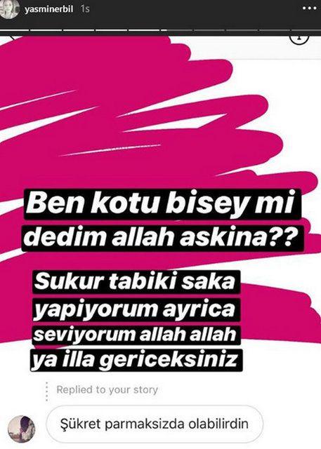 Yasmin Erbil'i sinirlendiren yorum! - Sayfa 3