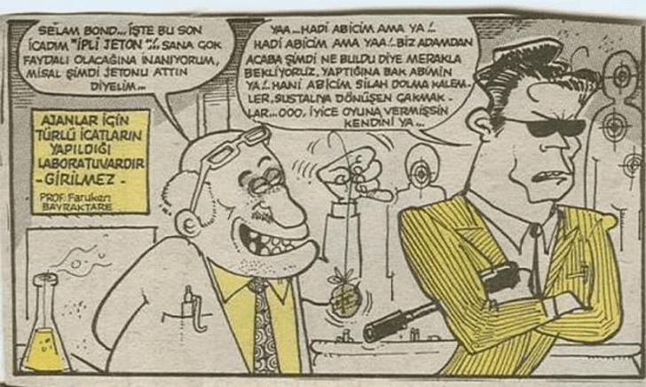 Cem Yılmaz'ın 90'lı yıllarda çizdiği karikatürleri gördünüz mü? - Sayfa 3