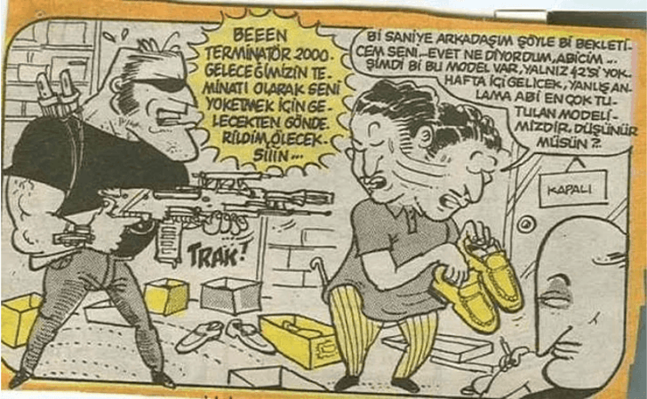 Cem Yılmaz'ın 90'lı yıllarda çizdiği karikatürleri gördünüz mü? - Sayfa 4