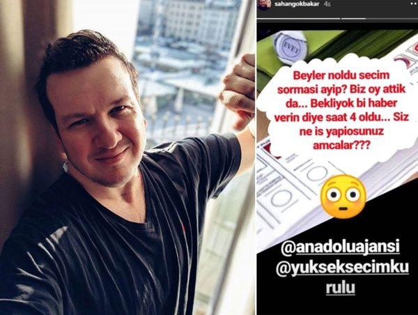 Şahan Gökbakar Anadolu Ajansı ile YSK'yı topa tuttu! - Sayfa 2