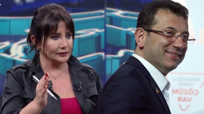 Sevilay Yılman Ekrem İmamoğlu'nu topa tuttu: Habertürk'e büyük bir özür borçlusunuz!
