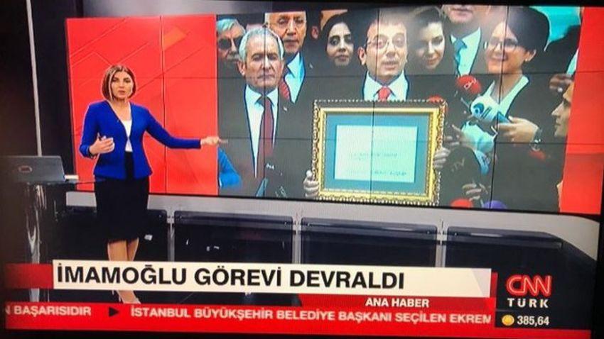 CNN Türk'te skandal! İmamoğlu'nun kafası Yavaş'ın gövdesinde!