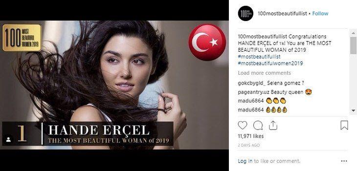 'Dünyanın En Güzel Kadını' Hande Erçel! - Sayfa 3