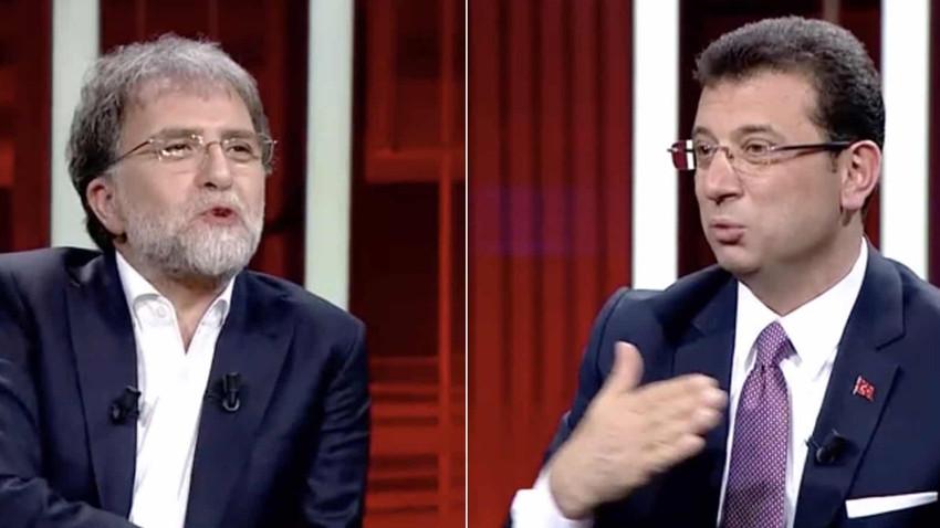 Ahmet Hakan'a Ekrem İmamoğlu tepkisi! Programı erken bitirdi!