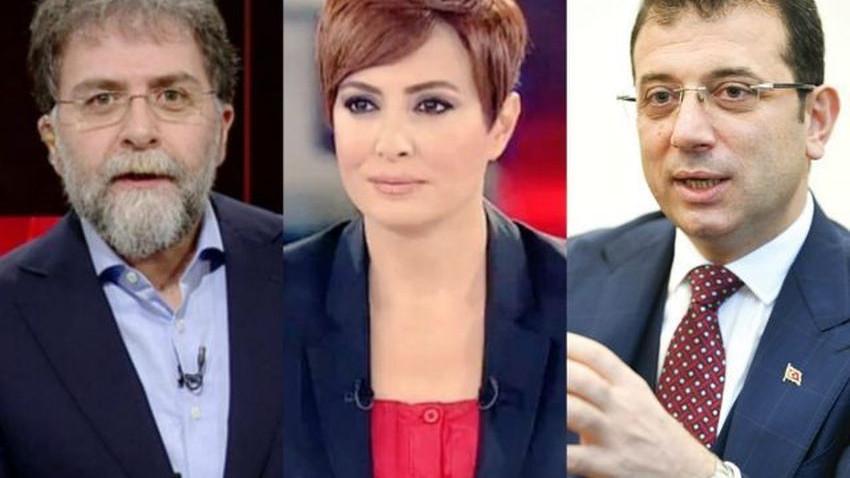 Didem Arslan'dan Ahmet Hakan'a olay gönderme!