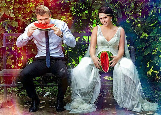 Rusların düğün fotoğrafları gözlerinizi kanatacak! - Sayfa 1