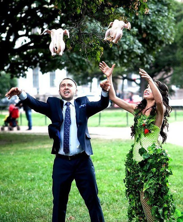 Rusların düğün fotoğrafları gözlerinizi kanatacak! - Sayfa 3