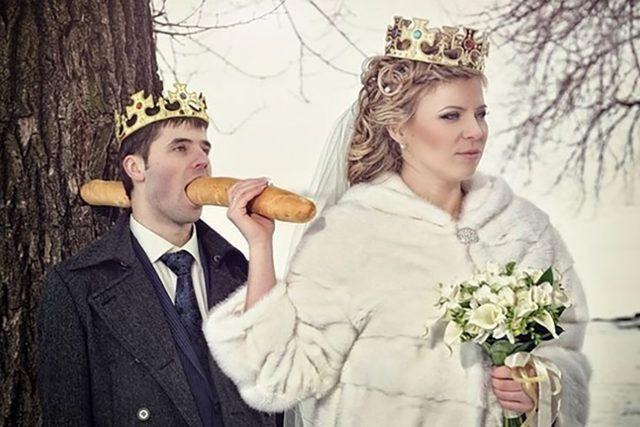 Rusların düğün fotoğrafları gözlerinizi kanatacak! - Sayfa 4