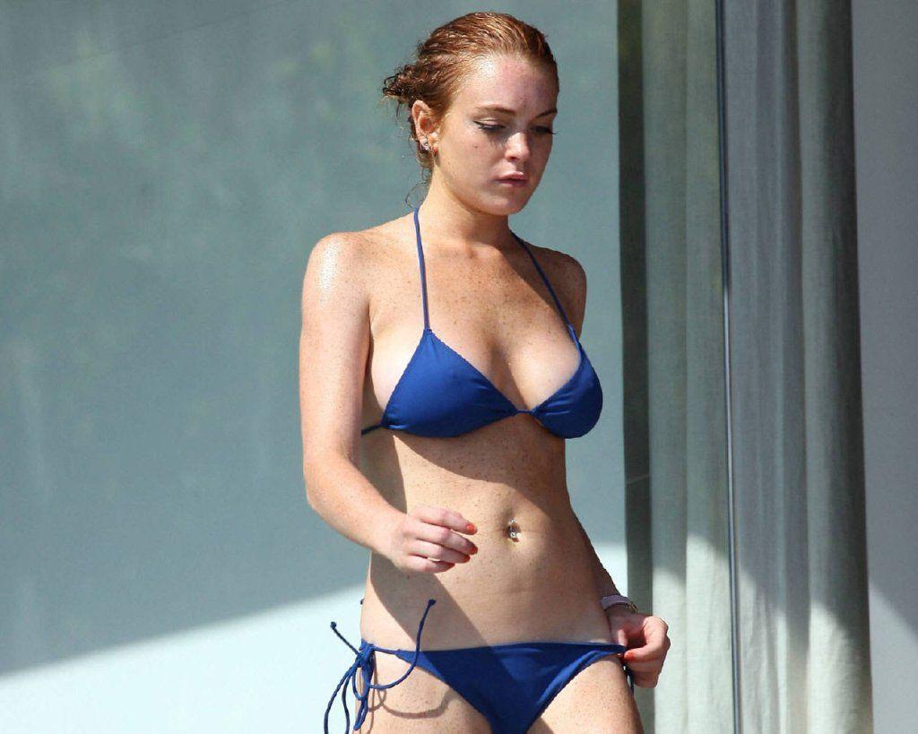 Güzel oyuncu Lindsay Lohan, doğum günü için çırılçıplak soyundu - Sayfa 3
