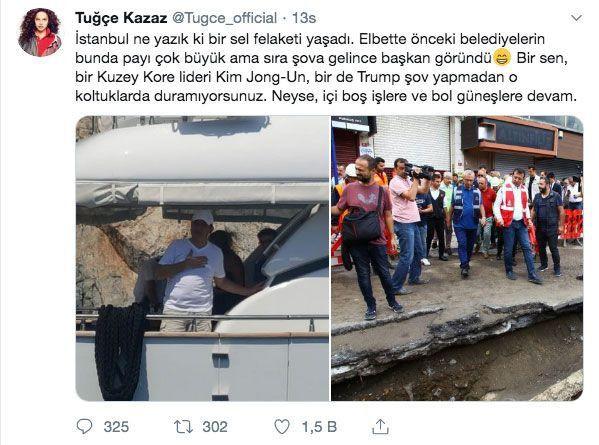 İmamoğlu'nun ikinci tatili sonrası Tuğçe Kazaz'ın twiti olay oldu - Sayfa 9