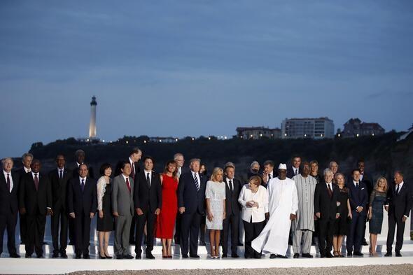 G7 zirvesine damga vuran öpücükler! - Sayfa 1