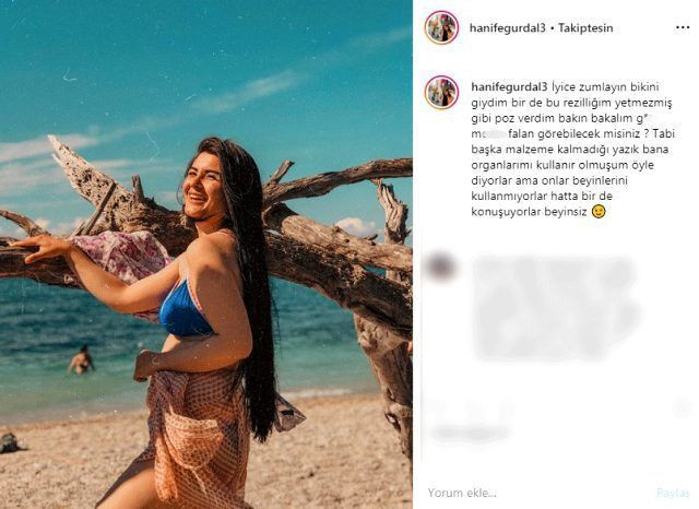 Gelin adayı Hanife'den bikinili mesaj: Bakın bakalım görebilecek misiniz? - Sayfa 2