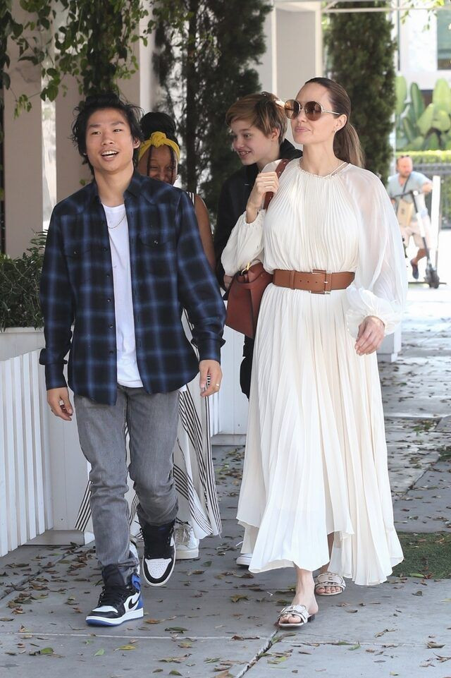 Angelina Jolie'nin oğlu Maddox Brad Pitt ile ilgili sessizliği bozdu - Sayfa 3