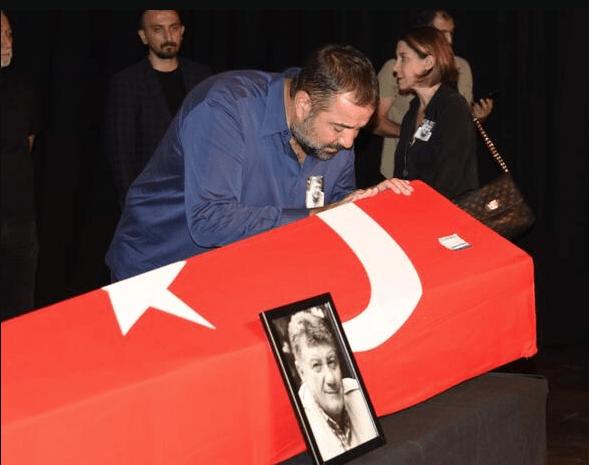 Gülenay Kalkan eşinin cenazesinde fenalaştı - Sayfa 2