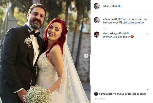 Sürpriz nikah! Ünlü ekran yüzü Erhan Çelik 3. kez evlendi! - Sayfa 2