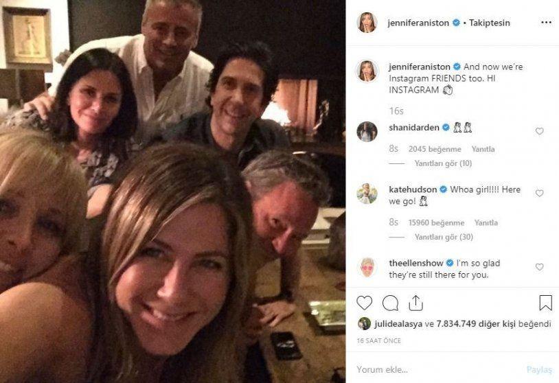Jennifer Aniston ilk kez hesap açtı, Instagram çöktü! - Sayfa 1