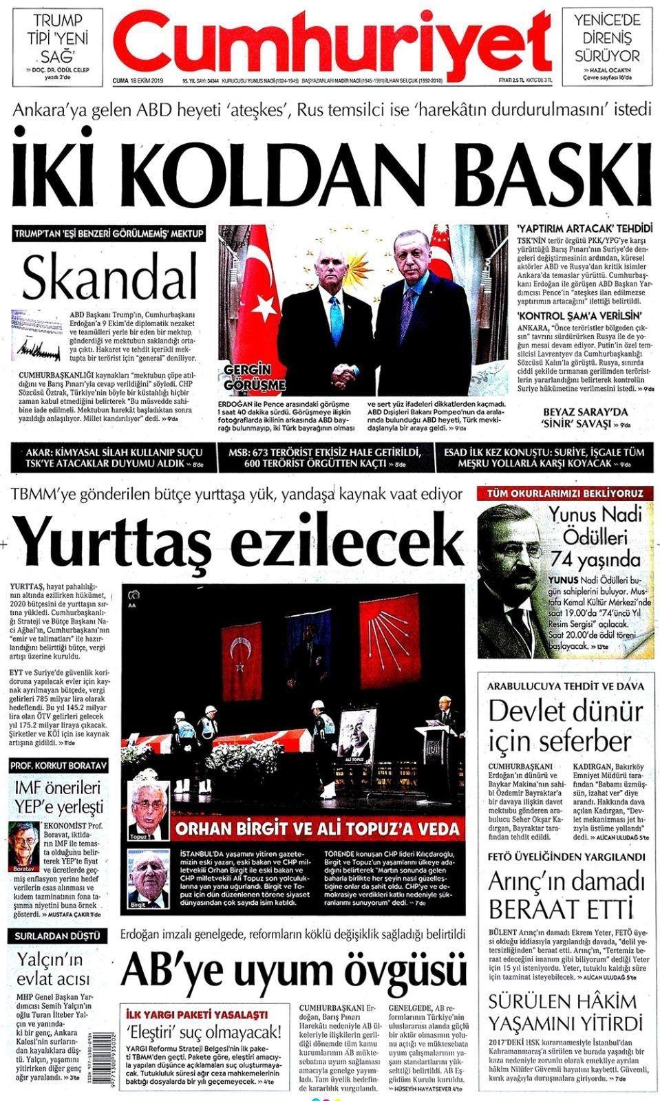 Türkiye-ABD anlaşmasını Türk basını böyle gördü! - Sayfa 2