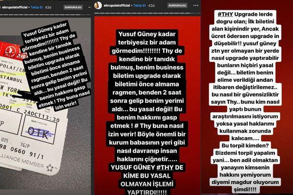 """Ebru Polat'tan Yusuf Güney'e torpil tepkisi! """"Ben bu kadar terbiyesiz adam görmedim"""" - Sayfa 3"""