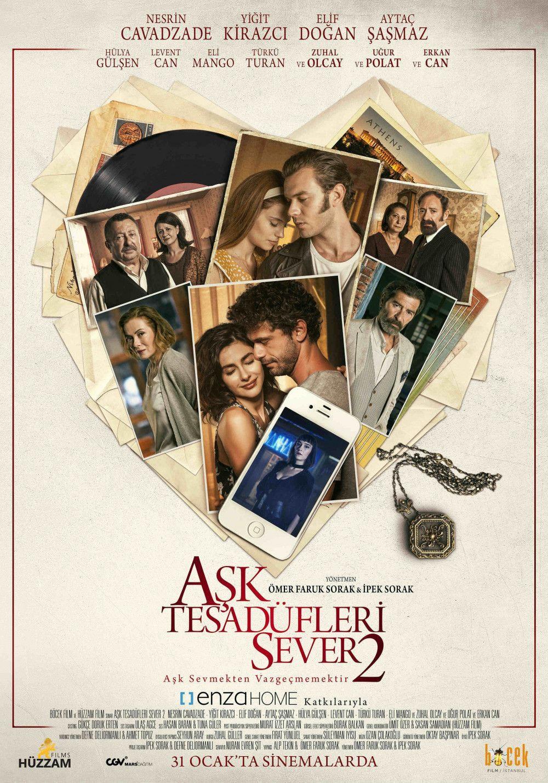 Aşk Tesadüfleri Sever 2 filminin afişi yayınlandı - Sayfa 2