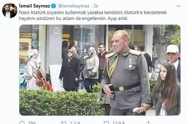 """Atatürk'e benzeyen oyuncuya İsmail Saymaz'dan tepki! """"Yasaklansın, ayıp artık"""" - Sayfa 4"""