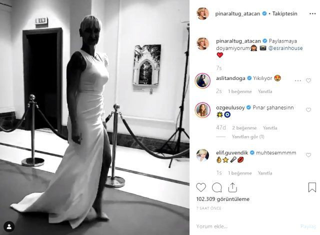 Pınar Altuğ yırtmaçlı elbisesiyle dikkat çekti! - Sayfa 2