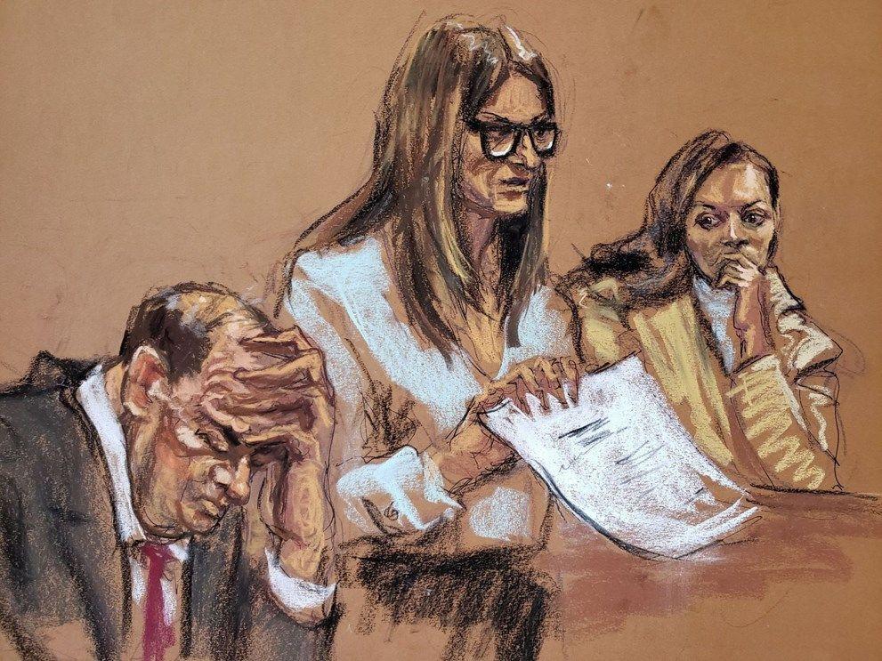 Duruşmada jüriye yapımcı Harvey Weinstein'in çıplak fotoğrafları gösterildi! - Sayfa 3